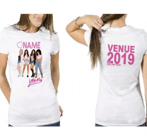 Little Mix Women's LM5 TOUR T-SHIRT